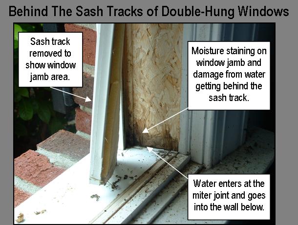 Stucco Window Leaks Moisture Problems